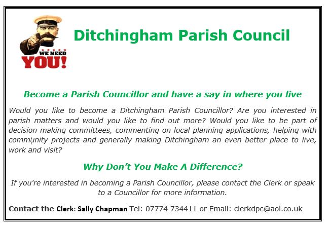 Councillor Vacancy Advert