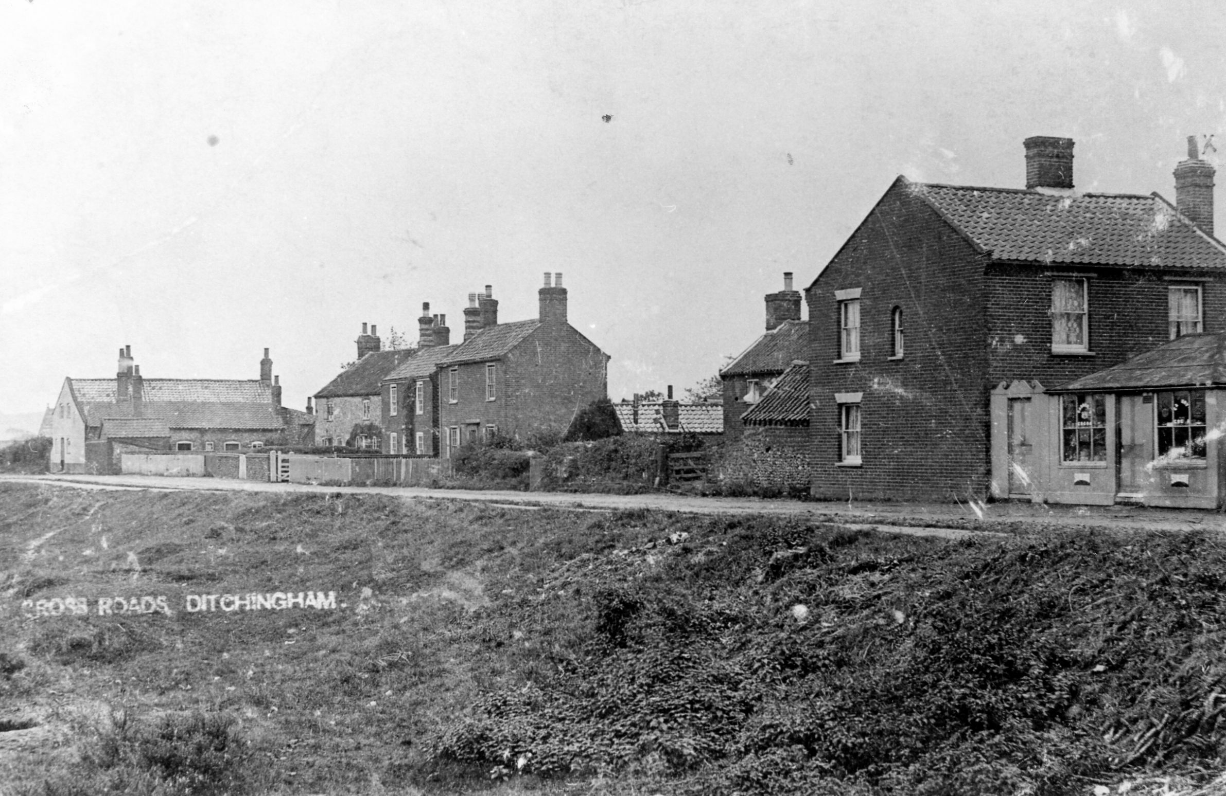 Station road Ditchingham
