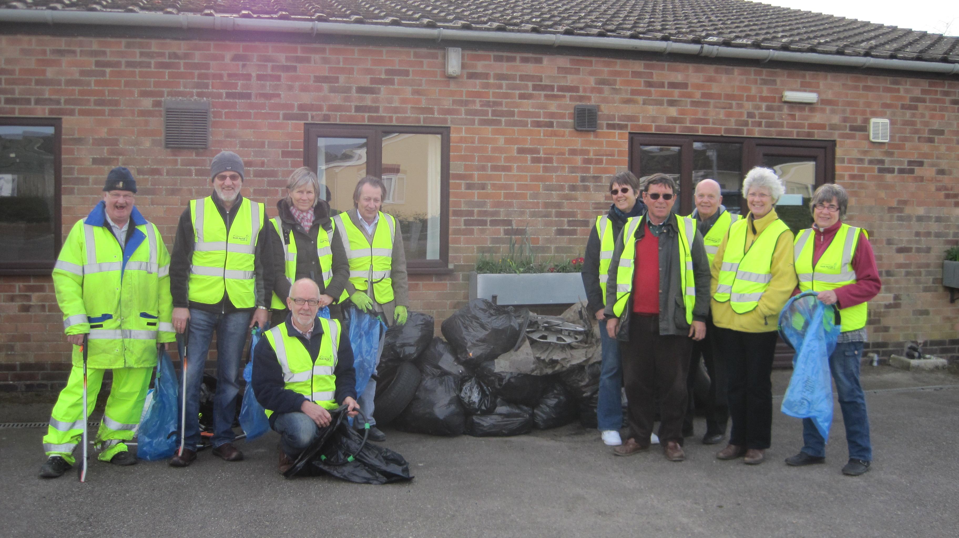 Litter Pick Volunteers 2015