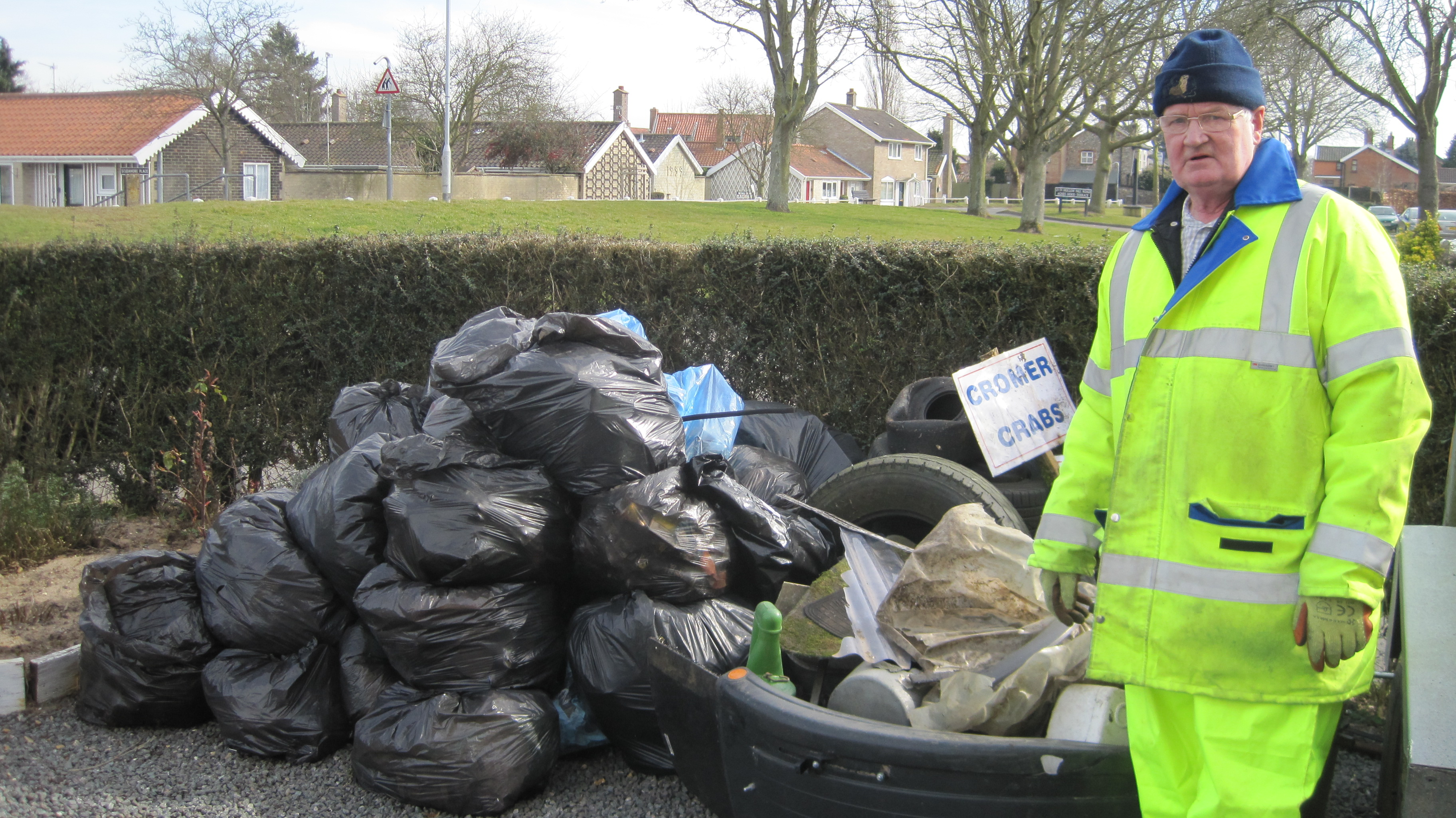 Litter Pick Volunteer 2015